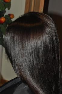 Very dark chocolate hair colour