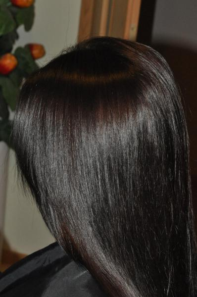 Very dark chocolate hair colour
