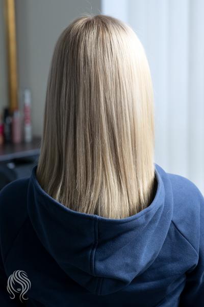 Sandy hair colour