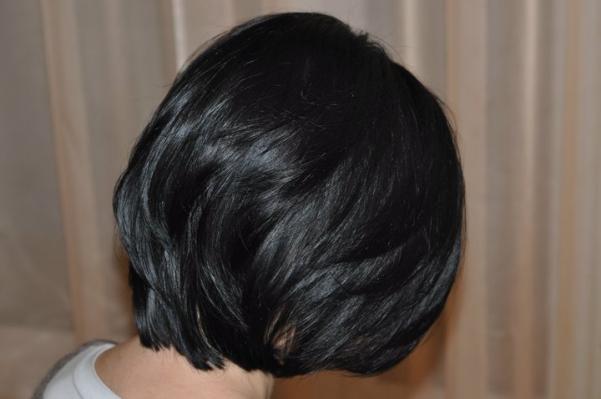 Slight hair trimming