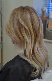 Balayage colouring