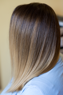 Balayage Ombre for short hair