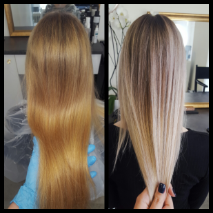 Colour fixing and Balayage