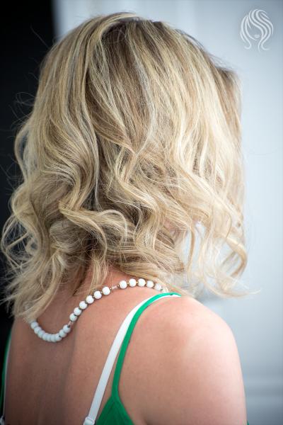Classical hair hightlights