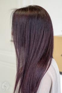 Brown violet colour