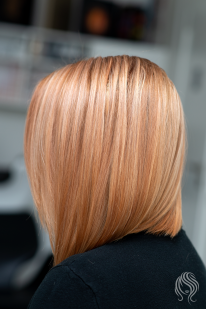 Peach colour toning