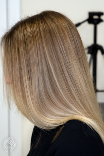 Balayage with tinting